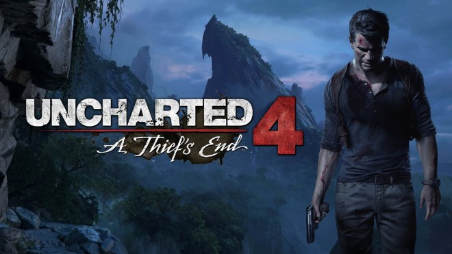 Official cover art for Uncharted 4: A thief's End. Credit belongs to Naughty Dog and Sony Computer Entertainment.